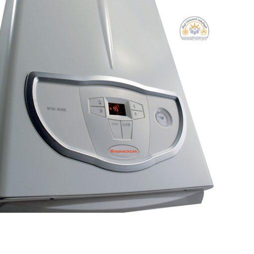 نمای صفحه نمایش پکیج شوفاژ دیواری MINI NIKE/EOLO